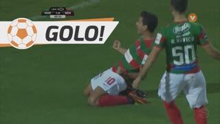 GOLO! Marítimo M., G. Ghazaryan aos 5', Marítimo M. 1-0 SL Benfica