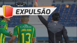 CD Tondela, Expulsão, Y. Osorio aos 70'
