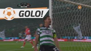 GOLO! Sporting CP, Adrien Silva aos 5', Sporting CP 1-0 SL Benfica