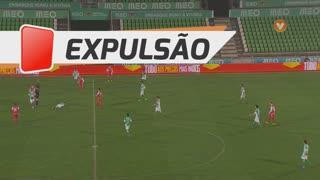 SC Braga, Expulsão, Vukcevic aos 69'