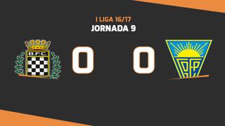 I Liga (9ªJ): Resumo Boavista FC 0-0 Estoril Praia