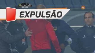 FC Arouca, Expulsão, Lito Vidigal aos 12'