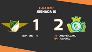 I Liga (10ªJ): Resumo Moreirense FC 1-2 Vitória FC