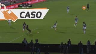 Sporting CP, Caso, Gelson Martins aos 22'