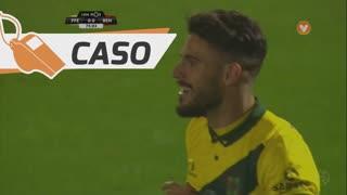 FC P.Ferreira, Caso, Ricardo Valente aos 75'