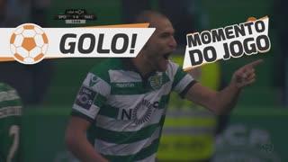 GOLO! Sporting CP, Bas Dost aos 13', Sporting CP 1-0 CD Nacional