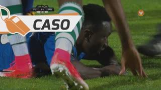 CD Feirense, Caso, O. Etebo aos 68'