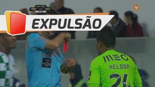 Rio Ave FC, Expulsão, Heldon aos 78'