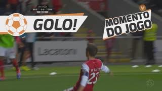GOLO! SC Braga, Pedro Santos aos 56', SC Braga 1-0 GD Chaves