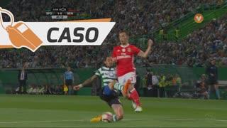 SL Benfica, Caso, Álex Grimaldo aos 40'