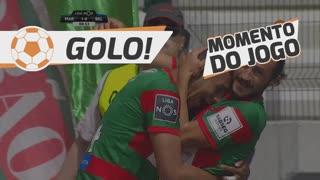 GOLO! Marítimo M., Raul aos 9', Marítimo M. 1-0 Os Belenenses