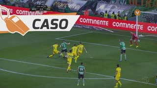 Sporting CP, Caso, Adrien Silva aos 50'