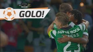 GOLO! Sporting CP, Bas Dost aos 13', Sporting CP 1-0 Estoril Praia
