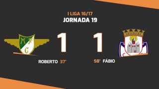 I Liga (19ªJ): Resumo Moreirense FC 1-1 CD Feirense