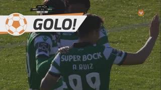 GOLO! Sporting CP, Alan Ruiz aos 34', FC Arouca 1-1 Sporting CP