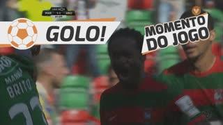 GOLO! Marítimo M., Zainadine Junior aos 41', Marítimo M. 1-1 FC Arouca