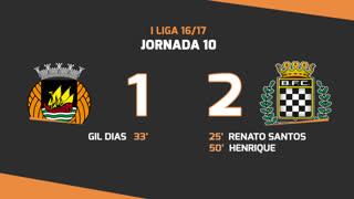 I Liga (10ªJ): Resumo Rio Ave FC 1-2 Boavista FC