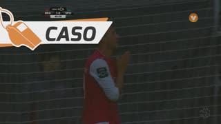 SC Braga, Caso, N. Stojiljković aos 40'