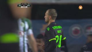 Sporting CP, Jogada, Bas Dost aos 52'