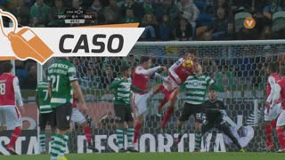 Sporting CP, Caso, André aos 88'
