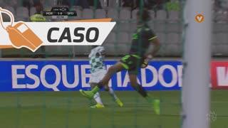Moreirense FC, Caso, M. Sougou aos 32'