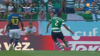 Sporting CP, Jogada, E. Schelotto aos 11'