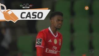 SL Benfica, Caso, Nélson Semedo aos 47'