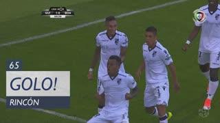 GOLO! Vitória SC, S. Rincón aos 65', Vitória SC 1-0 Boavista FC