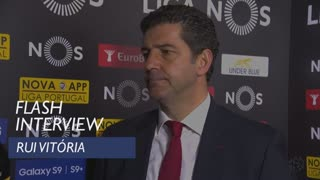 Liga (29ª): Flash interview Rui Vitória