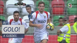 CD Aves, Alexandre Guedes aos 81', Marítimo M. 2-1 CD Aves