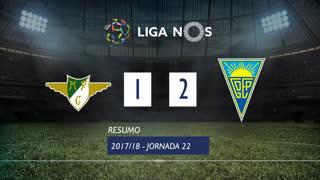 Liga NOS (22ªJ): Resumo Moreirense FC 1-2 Estoril Praia