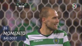 Sporting CP, Jogada, Bas Dost aos 36'