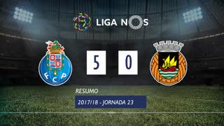 Liga NOS (23ªJ): Resumo FC Porto 5-0 Rio Ave FC