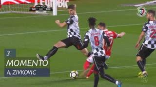 SL Benfica, Jogada, A. Zivkovic aos 3'