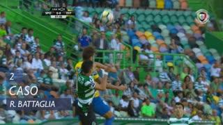 Sporting CP, Caso, Rodrigo Battaglia aos 2'