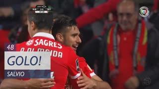 GOLO! SL Benfica, Salvio aos 48', SL Benfica 3-0 Vitória FC