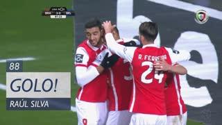 GOLO! SC Braga, Raúl Silva aos 88', SC Braga 3-0 Os Belenenses
