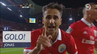 GOLO! SL Benfica, Jonas aos 61', SL Benfica 2-0 FC P.Ferreira