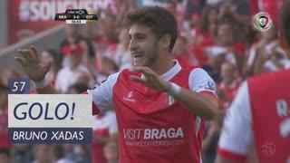 GOLO! SC Braga, Bruno Xadas aos 57', SC Braga 4-0 Estoril Praia