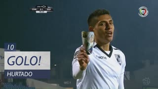 GOLO! Vitória SC, Hurtado aos 10', GD Chaves 0-1 Vitória SC