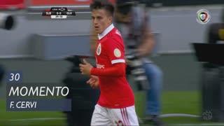 SL Benfica, Jogada, F. Cervi aos 30'