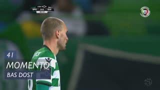 Sporting CP, Jogada, Bas Dost aos 41'