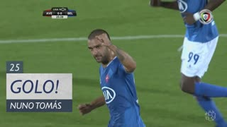 GOLO! Belenenses SAD, Nuno Tomás aos 25', CD Aves 0-1 Belenenses SAD