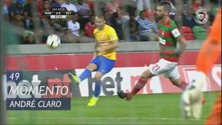 Estoril Praia, Jogada, André Claro aos 49'