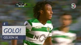 GOLO! Sporting CP, Gelson Martins aos 4', Sporting CP 1-0 Estoril Praia