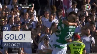 GOLO! Sporting CP, Bas Dost aos 21', Vitória SC 0-2 Sporting CP