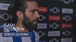 Liga (18ª): Flash interview Sérgio Oliveira