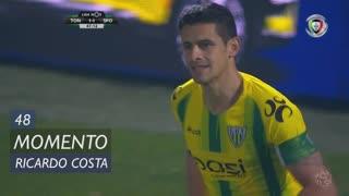 CD Tondela, Jogada, Ricardo Costa aos 48'