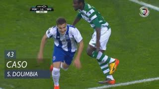 Sporting CP, Caso, S. Doumbia aos 43'
