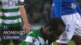 Sporting CP, Jogada, S. Doumbia aos 71'